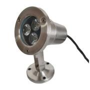 LED projektor 2V 3X1W meleg fehér