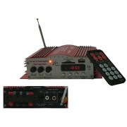 Autós MP3 erosíto, USB/SD/AUX bemenettel és FM rádióval Mlogic