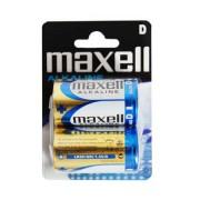 MAXELL alkáli elem LR20 bliszter 2 db.