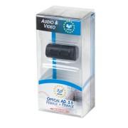 Optikai adapter 3.5 aljzat - 3.5 aljzat bliszter EDC
