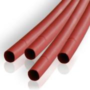 Zsugorcso, 2,0mm/1m, piros 10db/cs.