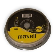 CD-R MAXELL 700MB 52X 10 db.