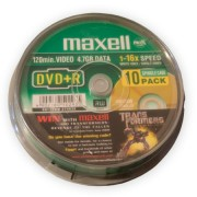 DVD+R 4.7GB MAXELL 10 db.