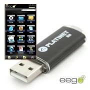 """PLATINET USB drive """"X-Depo"""" 4GB Eego szoftverrel"""