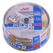 DVD+R JVC 4,7GB 16X CAKE 25 db.