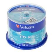 CD-R X52 VERBATIM EXTRA 50 db.