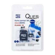 QUER MicroSD memória kártya 64 GB SD átalakítóval