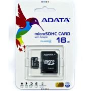 ADATA MicroSD memória kártya 16 GB SD átalakítóval
