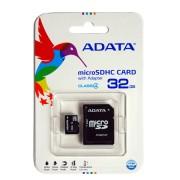ADATA MicroSD memória kártya 32 GB SD átalakítóval