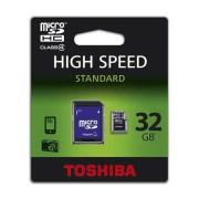 TOSHIBA MicroSD memória kártya 32 GB SD átalakítóval