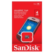 MicroSD kártya 4GB SANDISK