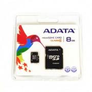 ADATA MicroSD memória kártya 8 GB SD átalakítóval