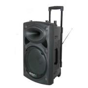 Ibiza Port15VHF BT-38cm (15 coll) PA rendszer-USB-SD-AUX-MP3-Bluetooth