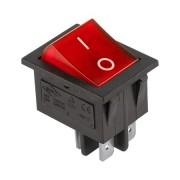 Billenokapcsoló piros IRS-2 20A/125VAC 15A/250VAC