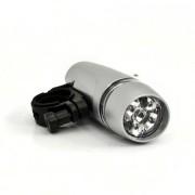 5 LED-es kerékpár lámpa 4 funkció