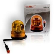 Narancssárga figyelmezteto lámpa 12V