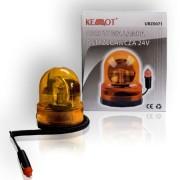 Narancssárga figyelmezteto lámpa 24V