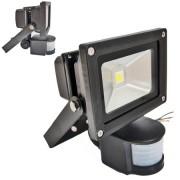 LED-es reflektor mozgásérzékelos 10W
