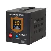 Szinusz jeles szünetmentes tápegység 500W 12V KEMOT (Fekete)