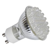 36LED GU10 230V meleg fényu 2W
