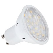 LED izzó - 16 SMD 3014 - 5.3W GU10 3000K