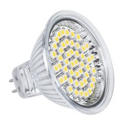 LED izzó (48 SMD 3528) 3W MR16 3000K 230V